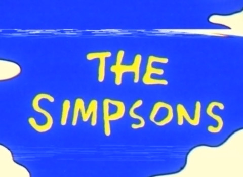 WEIRD SIMPSONS VHS